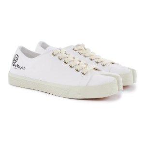 Maison Margiela最高满减$436白色分趾帆布鞋