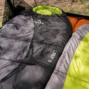 Amazon TETON Sports LEEF Lightweight Mummy Sleeping Bag