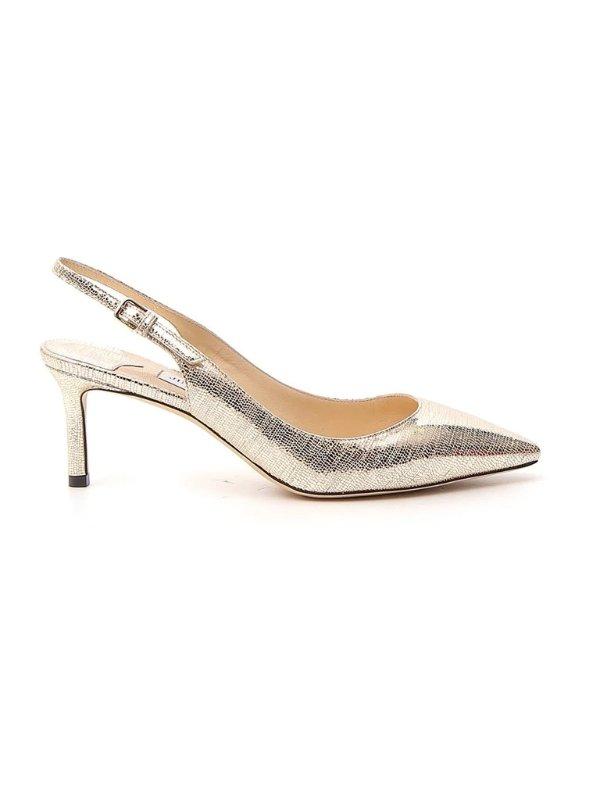 Erin 香槟金高跟鞋