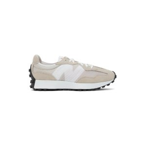 New BalanceTan & White 327 Sneakers