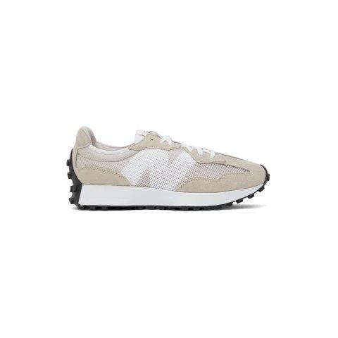 Tan & White 327 慢跑鞋