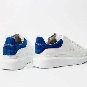 低至6折 £322收拼色小白鞋独家提前享:Alexander Mcqueen 官网圣诞大促 收小白鞋、高级时装、配饰等