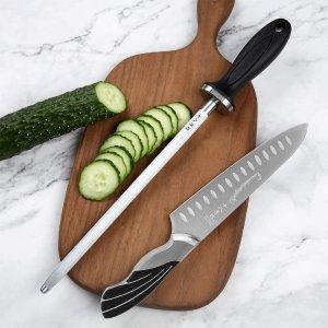 SHI BA ZI ZUO Pro Versatile Hone Manual Knife Sharpener