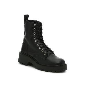 Steve Madden满$99减$20Tornado 系带马丁靴