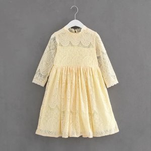 Babble Bear BoutiqueNew InCream Southern Bell Lace Dress