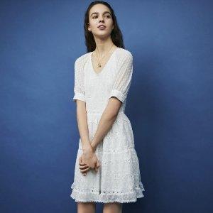低至4折 入美裙裙啦Maje、Sandro 等夏季美衣热卖