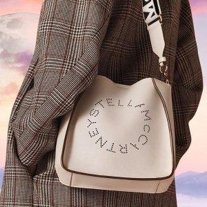 低至5折 €197收字母单肩包Stella McCartney 潮包美鞋扣热卖 兼顾时尚舒适的两全品牌