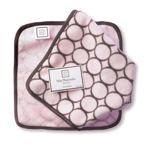 $7.47SwaddleDesigns 土耳其特里丝绒超柔婴儿毛巾 2条装
