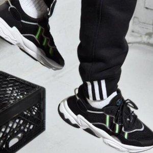 $150+包邮adidas Originals OZWEEGO 运动鞋 收四字弟弟、宋祖儿同款