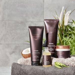 清仓区买3送1+额外8.9折最后一天:Grow Gorgeous 生发、洗护发品 收强效生发精华、修护发膜