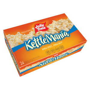 $7.8JOLLY TIME Microwave Kettle Corn, Sweet & Salty(24 Count)