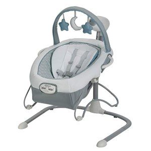 Amazon Graco Duet Sway LX Swing with Portable Bouncer, Alden