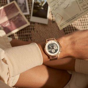 满额减€40 €49收女士复古手表Fossil 美国时尚潮流品牌 快来收复古经典手表、包包