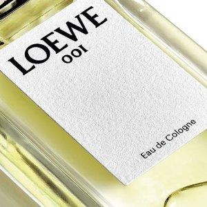低至6折 约会必备LOEWE 罗意威香水补货啦 收张若昀婚礼伴手礼001事后清晨