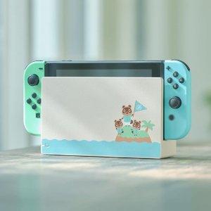宅家好物 €399.99有货速收!Nintendo Switch 动物森友会限定套装 小清新俘获你的童心