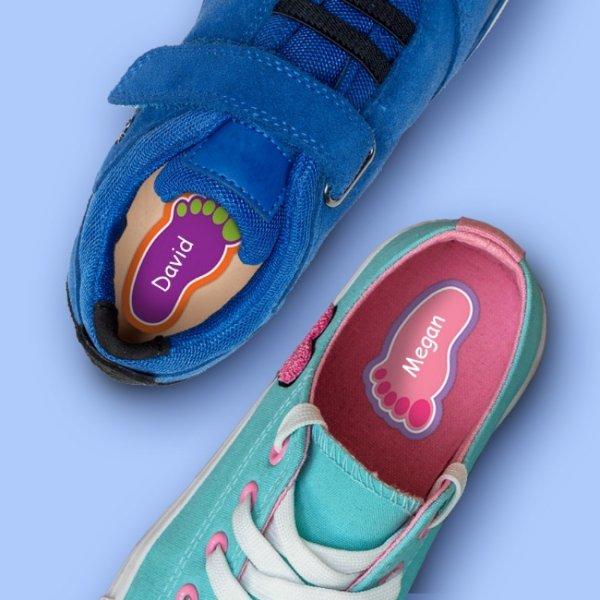 个人定制 鞋用贴纸套装-12对