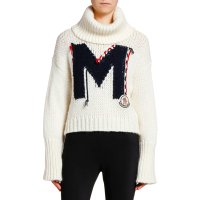 Moncler Relaxed 高领毛衣