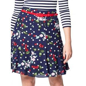 Cherry Floral Skirt