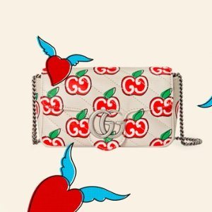 上新+免邮 超美天鹅绒款加入Gucci Mini包好价卖不停 一只包9种背法 性价比天花板