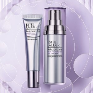 New Arrivals! Perfectionist ProChoose Free 7-Piece Gift with purchase of Perfectionist Pro items @ Estee Lauder