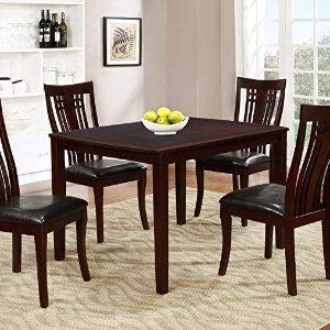 $399.99(原价$659.99)史低价:Brassex 995-15 时尚餐桌椅5件套