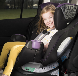 Evenflo SafeMax Platinum All In One Convertible Car Seat Madalynn