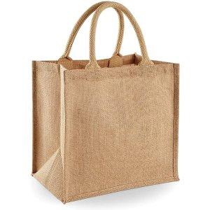 黄麻袋手提袋 30 x 30 x 19cm