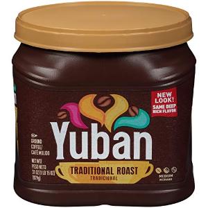 $4.74Yuban 中度烘焙经典原味咖啡豆 31oz.