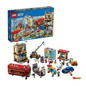 $104.99史低价:LEGO City 系列 城市中心广场 60200
