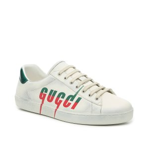 Gucci官网定价$790New Ace 男士小脏鞋