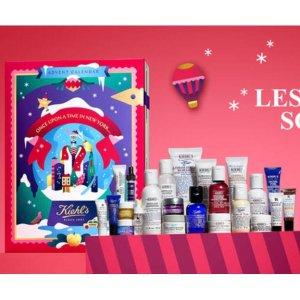 超值24件产品+€10礼券 仅售€79上新:Kiehls 圣诞限量日历火热开售 全明星阵容豪华超心动