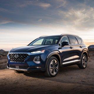 专注科技与家庭安全2019 Hyundai Santa Fe 五座家用SUV