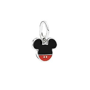 PandoraDisney Jewelry Collection Silver Mickey Icon Dangle Charm