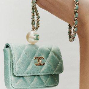 £870起收山茶花珍珠款Chanel SS21全新迷你包上架 春夏清新配色+爆火珍珠元素