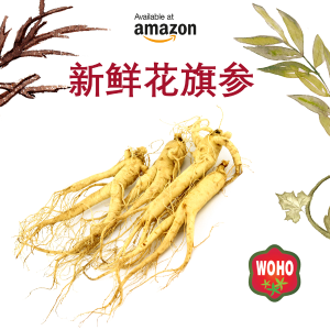Free shipping + Buy 3 Get 1 FreeDailyVita WOHO Fresh American Ginseng@Amazon