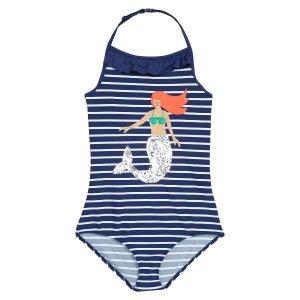 77818e111a7 Mini BodenPretty Sequin Applique One-Piece Swimsuit