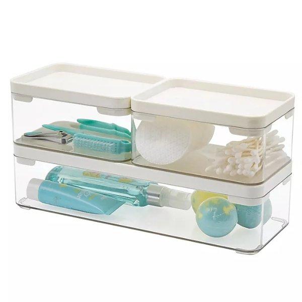 Stackable 浴室收纳盒3件套