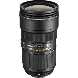 $1599.99 大三元Nikon AF-S NIKKOR 24-70mm f/2.8E ED VR 镜头