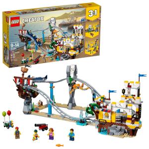 $79.98(原价$105.67)史低价:LEGO乐高 Creator 3合1系列 海盗过山车31084,3种搭建方式
