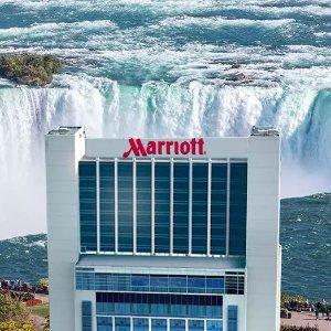 房价$73/晚起加拿大境内尼亚加拉大瀑布万豪酒店 免费取消 浪漫出游