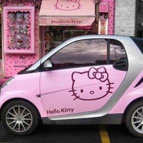 一眼便爱上么么哒那些女生喜欢的萌系车型