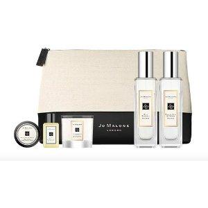 8折,送身体乳+蜡烛2件套Jo Malone 限量香氛套装 三款可选 变相买香氛送5件套