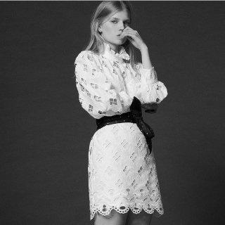 低至6折+每满$200立减$50 封面同款限今天:Maje, Sandro 秋冬新款美衣 蕾丝裙热卖
