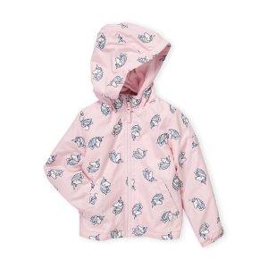OshKosh B'gosh(Toddler Girls) Unicorn Print Raincoat