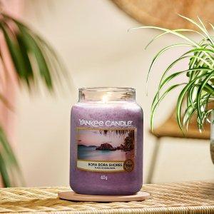 7折起 一天5h可燃一个月Yankee Candle 限时折扣 超好闻的香氛蜡烛 实惠大碗点起来不心疼