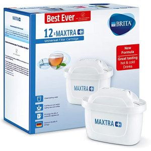 Brita£3.3/个 史低!MAXTRA +滤水器滤芯 1年装12只