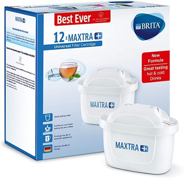 MAXTRA +滤水器滤芯 1年装12只