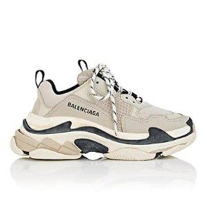 Balenciaga女款 Triple S 老爹鞋