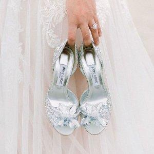 6折+免邮 £315收刘诗诗同款婚鞋Jimmy Choo官网 婚鞋专场大促 梦幻婚礼与blingbling最搭
