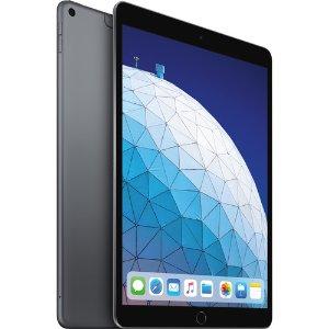 $599 深空灰色史低价:Apple iPad Air (10.5吋, Wi-Fi + 蜂窝, 256GB)